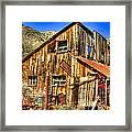 Garage Shack Framed Print