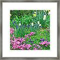 Garden Escape Framed Print