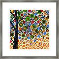 Garden Of Moons #2 Framed Print