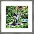 Garden Statuary Framed Print