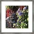 Garden Zen Art Framed Print