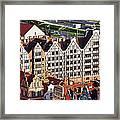 Gdansk Granaries Framed Print