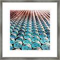 Giant Bubble Wrap Framed Print