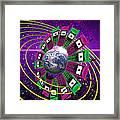 Global Communication Framed Print