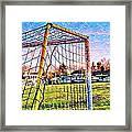 Goal Of Dreams Framed Print