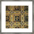 Gold Cathedral Ceiling Italy Framed Print