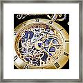 Gold Pocket Watch Framed Print by Garry Gay