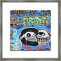 Graffiti Provence France Framed Print