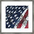 Grand Ol' Flag Framed Print