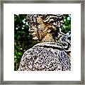 Gritty Profile Framed Print