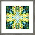 Guardian Angel Of The Home Framed Print