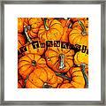 Happy Thanksgiving Art Framed Print