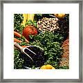 Healthy Foods Framed Print