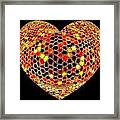 Heartline 7 Framed Print