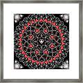 Hearts And Lace 2012 Framed Print