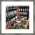 Herbal Pharmacy Framed Print