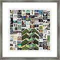 High Rise Apartment Building Framed Print