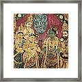 Hindu Wedding Ceremony Framed Print