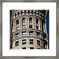 Historic Building In San Francisco - Colour Framed Print