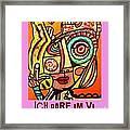 Hole In My Head - Yiddish Framed Print