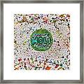 Holi Framed Print