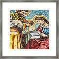 Holy Family At Catholic Church Framed Print