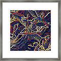 Host Of Angels By Jrr Framed Print