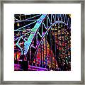 Hot Town Summer In The City Framed Print