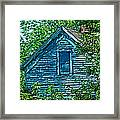 House In The Woods Art Framed Print