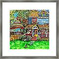 House Of Cats Framed Print