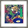 Humpty Got Pushed Framed Print