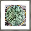 Illustration From Atlas Coelestis Framed Print