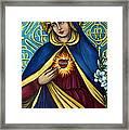 Immaculate Heart Framed Print