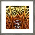 In The Beginning Framed Print by Geoff Strehlow