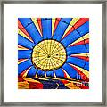 Inside A Hot Air Balloon Framed Print