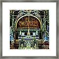 Inside St Louis Cathedral Jackson Square French Quarter New Orleans Glowing Edges Digital Art Framed Print