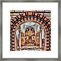 Inside St. Nicholas Chapel At A Greek Monastary In Florence Az Framed Print