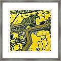 Integrated Circuit Framed Print by Carlos Caetano