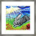 Iorek Byrnison Silvertongue Framed Print