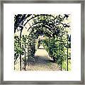 Irish Archway Framed Print
