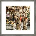 Isoms Orchard In Fall Regalia Framed Print