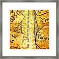 It's A Long Road Framed Print