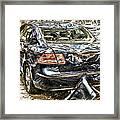 Its Just A Small Dent Honey Framed Print