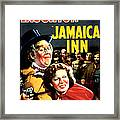 Jamaica Inn, Charles Laughton, Maureen Framed Print