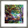 Jamjuree Trees Framed Print
