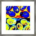 Jelly Bean Jewels 4 Framed Print