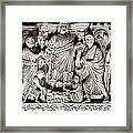 Jesus & Apostles Framed Print