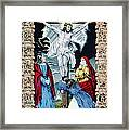 Jesus Christ, The Crucifixion, Hand Framed Print