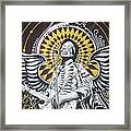 Jimi With Wings Framed Print