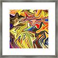Just Abstract Viii Framed Print